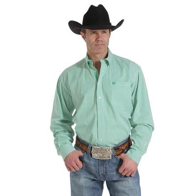 Cinch Men's Long Sleeve Pinstripe Button Shirt