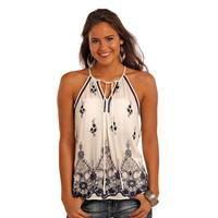 Panhandle Slim Women's Flowy Halter Top