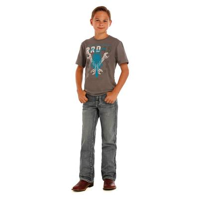 Panhandle Slim Boys Rock & Roll Denim Boot Cut Jean