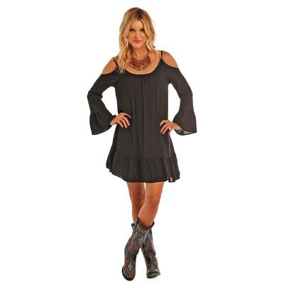 Panhandle Slim Women's Long Sleeve Off The Shoulder Dress