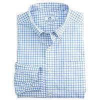 Southern Tide Men's Long Sleeve Tradewind Tattersall Shirt SKYBL
