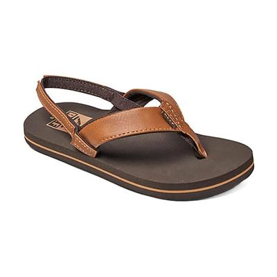 Reef Boy's Brown Grom Twinpin Sandals