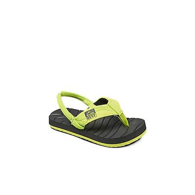 Reef Boy's Green & Black Grom Roundhouse Sandals