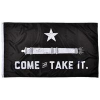 Rowdy Gentlemen Come and Take It Flag