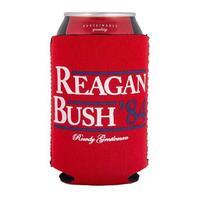 Rowdy Gentlemen Reagan Bush '84 Beer Sleeve
