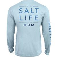 Salt Life Men's Long Sleeve Water Icon SLX Tee