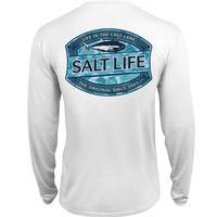 Salt Life Men's Long Sleeve Life In The Cast Lane SLX Tee