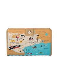 Spartina 449 Texas Map Snap Wallet