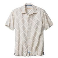 Tommy Bahama Men's Short Sleeve Doric Diamond Shirt