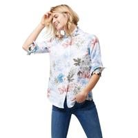 Tommy Bahama Women's Long Sleeve Botanical Shirt