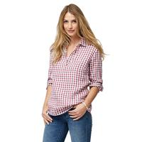 Tommy Bahama Women's Gingham The Great Popover Top