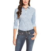 Ariat Women's Long Sleeve Blue Kirby Shirt