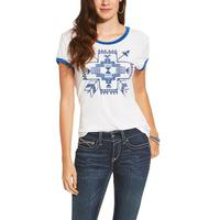 Ariat Women's Short Sleeve Bow Top