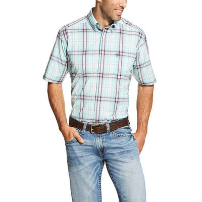 Ariat Men's Short Sleeve Forest Shirt