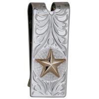 Bar V Ranch Star Money Clip