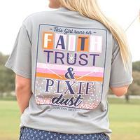 Jadelynn Brooke Women's Faith Trust & Pixie Dust Tee