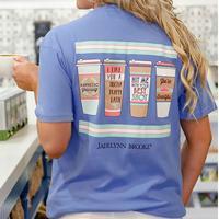 Jadelynn Brooke Women's Coffee x 4 Tee