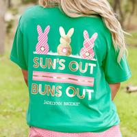 Jadelynn Brooke Women's Suns Out Buns Out Tee