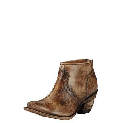 Ariat Women's Jadyn Chocolate Croc Print Shoe