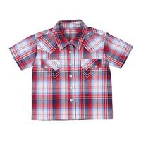 Wrangler Infant Boy's Short Sleeve Snap Shirt