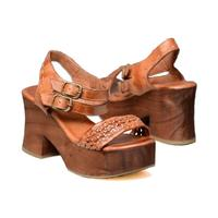 BedStu Women's Kenya Platform Sandal