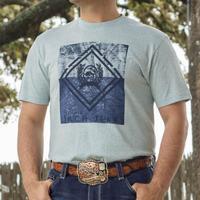 Cinch Men's Light Blue T-Shirt