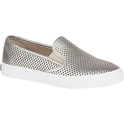 Sperry Women's Gold Seaside Perforated Sneaker