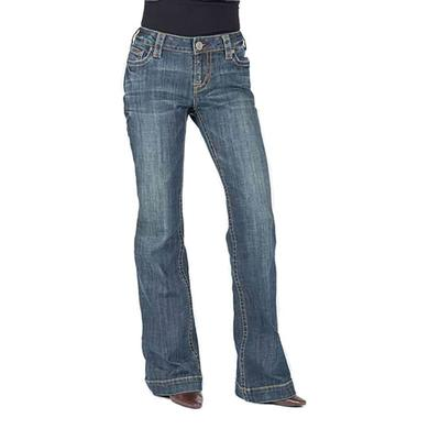 Stetson Women's Sits Just Below Waist Trouser Jeans