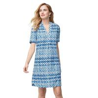 Tommy Bahama Women's Dot Matrix Shirt Dress