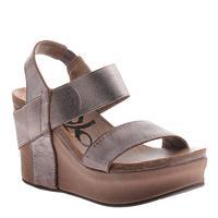 OTBT Women's Pewter Bushnell Sandal