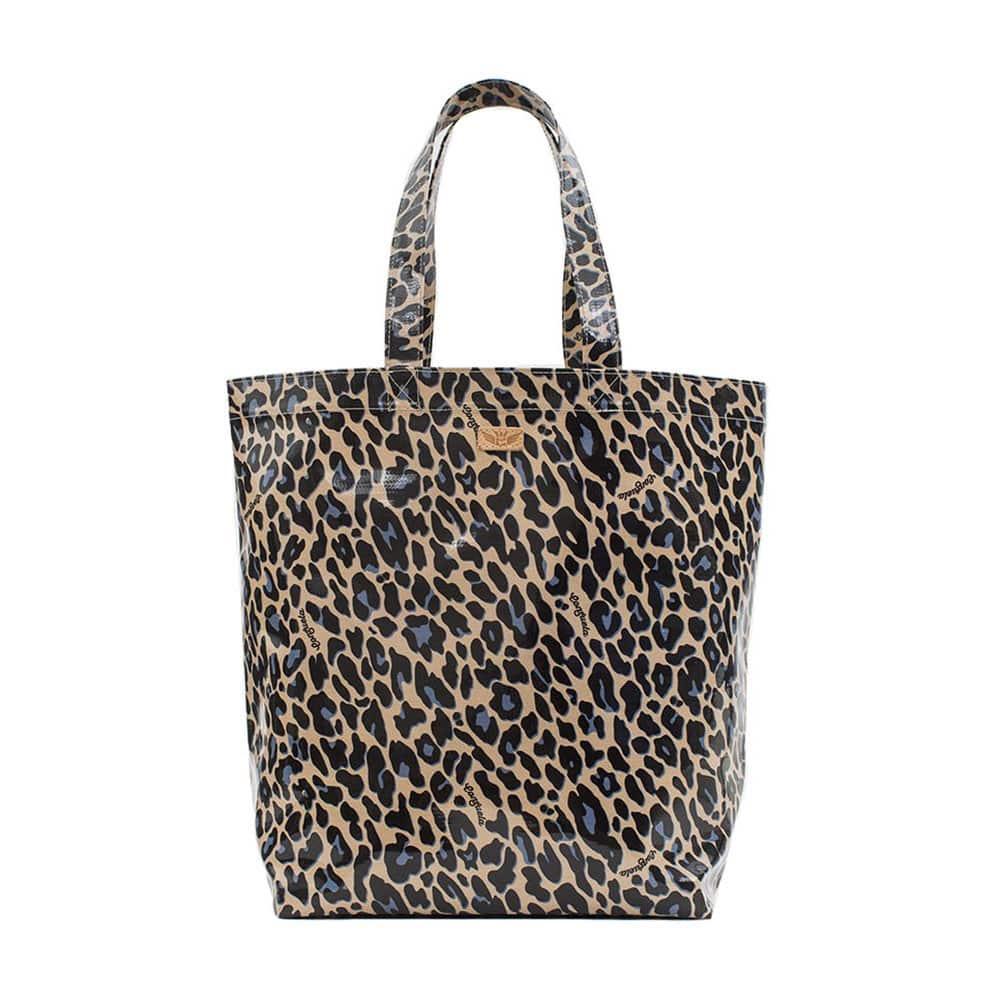 Consuela Blue Jag Grocery Tote Bag Item 7602
