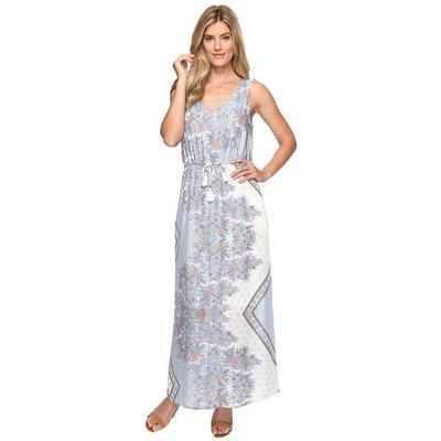 Dylan Women's Boho Bandana Maxi Dress