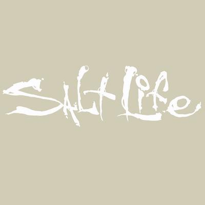 Salt Life Medium Signature Decal