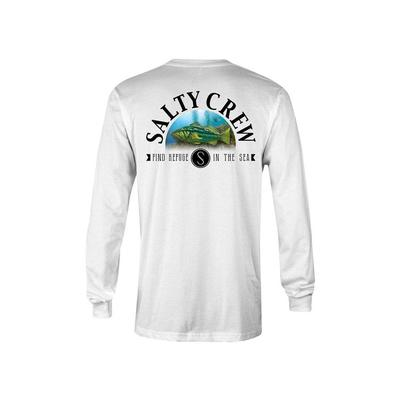 Salty Crew Men's Long Sleeve Calico Tee