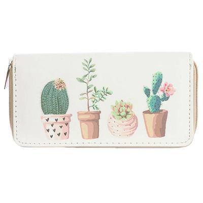 Cactus In Pots Wallet