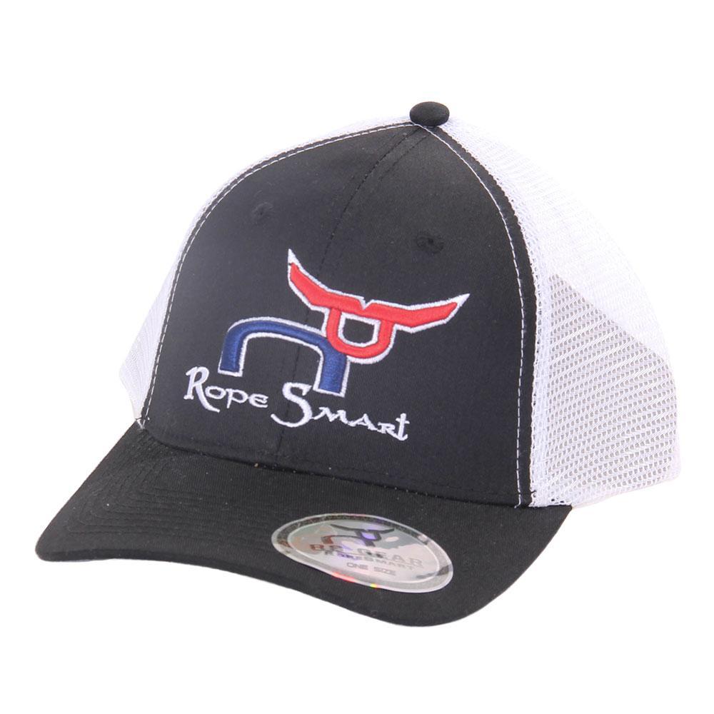 49a22a97e11 Rope Smart s Black Red And Blue Snapback Trucker Cap Item   ASSTCAP