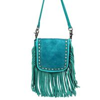 Montana West's Real Leather Crossbody With Fringe