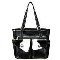 Montana West's Tooled Leather Concealed Handgun Tote