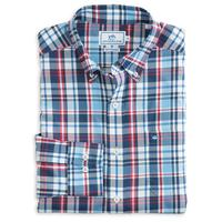 Southern Tide Men's BBQ Plaid Intercoastal Shirt