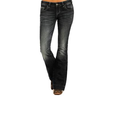 Panhandle Slim Women's Rock And Roll Denim Trouser Jean