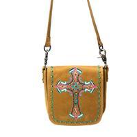 Montana West's Delila Cross Leather Crossbody