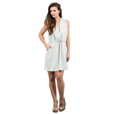 Lola And Sophie Women's Silky Twill Dress