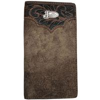 Justin's Dude Taupe Western Rodeo Wallet