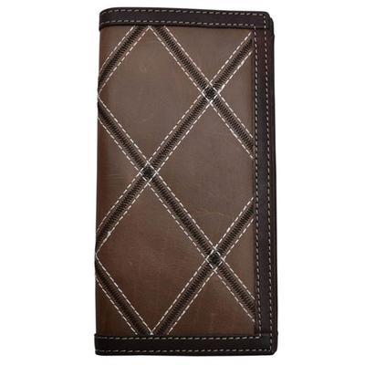 3d's Brown Vintage Rodeo Wallet