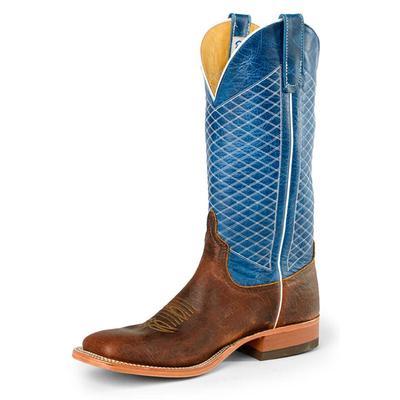 Anderson Bean Men's Mike Tyson Blue Lava Boots