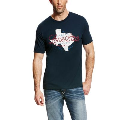 Ariat Men's Navy Lonestar State T- Shirt