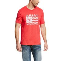 Ariat Men's Red Old Glory T-Shirt