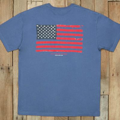 Southern Marsh Men's Vintage Flag T- Shirt