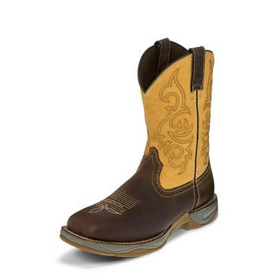 Tony Lama Men's Dusty San Antone Steel Toe Boots