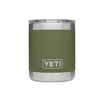Yeti Olive Green Rambler 10oz Lowball